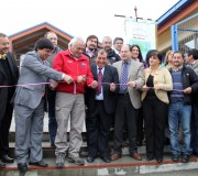 """Inauguran Escuela Rural """"Cataratas del Alerce"""" de Hualaihué Puerto"""