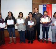 En Hualaihué fueron certificadas mujeres trabajadoras y jefas de hogar