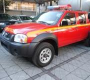 Junta Nacional de Bomberos entrega camionetas 4×4 en la Provincia de Palena