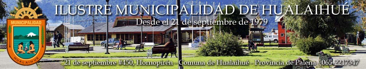 Municipalidad Hualaihué – Provincia de Palena