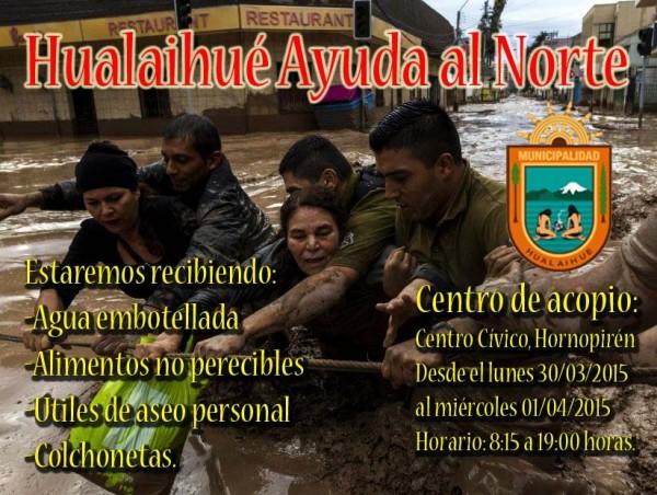 Hualaihue ayuda al norte