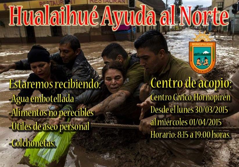 Hualaihue ayuda al norte web